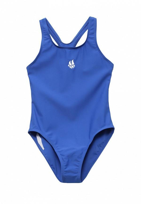 купальник madwave для девочки, синий