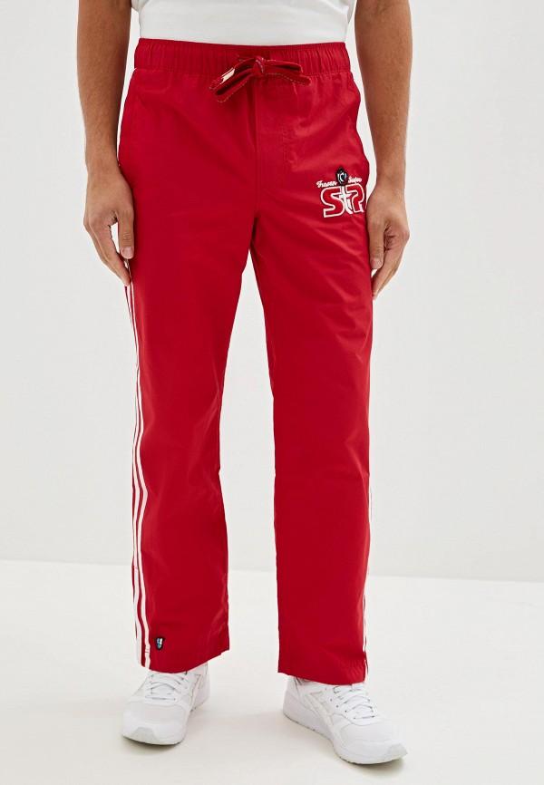 мужские спортивные спортивные брюки madwave, красные