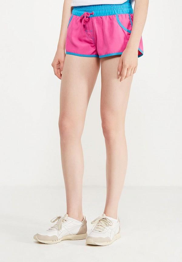 женские спортивные шорты madwave, розовые