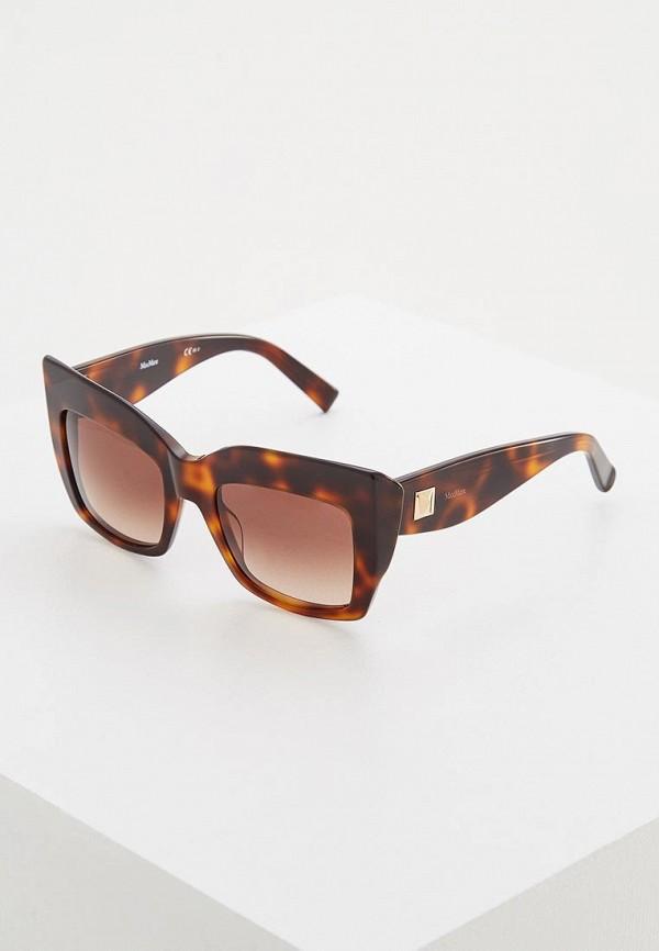 Очки солнцезащитные Max Mara Max Mara MA994DWGYA76 очки солнцезащитные max mara max mara ma994dwayej0