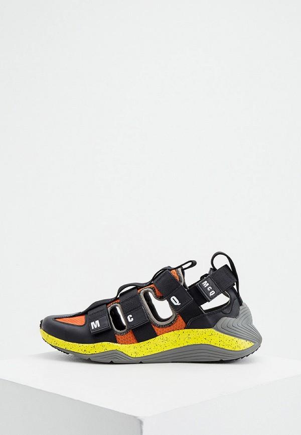 мужские низкие кроссовки mcq alexander mcqueen, разноцветные
