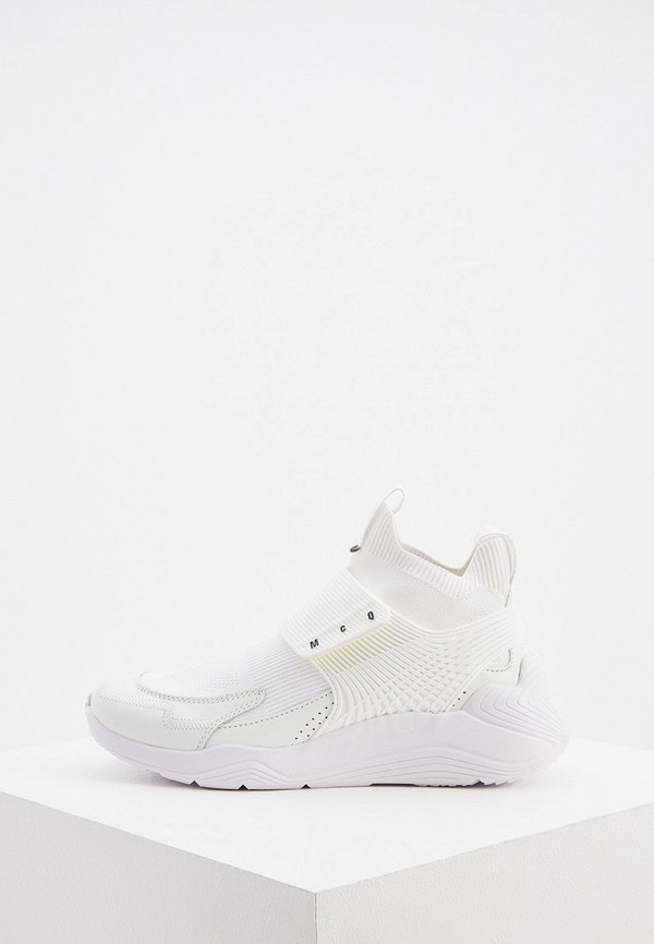 женские кроссовки mcq alexander mcqueen, белые