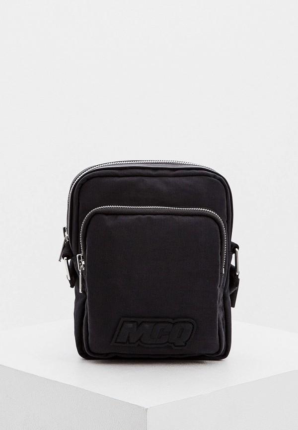 мужская сумка mcq alexander mcqueen, черная