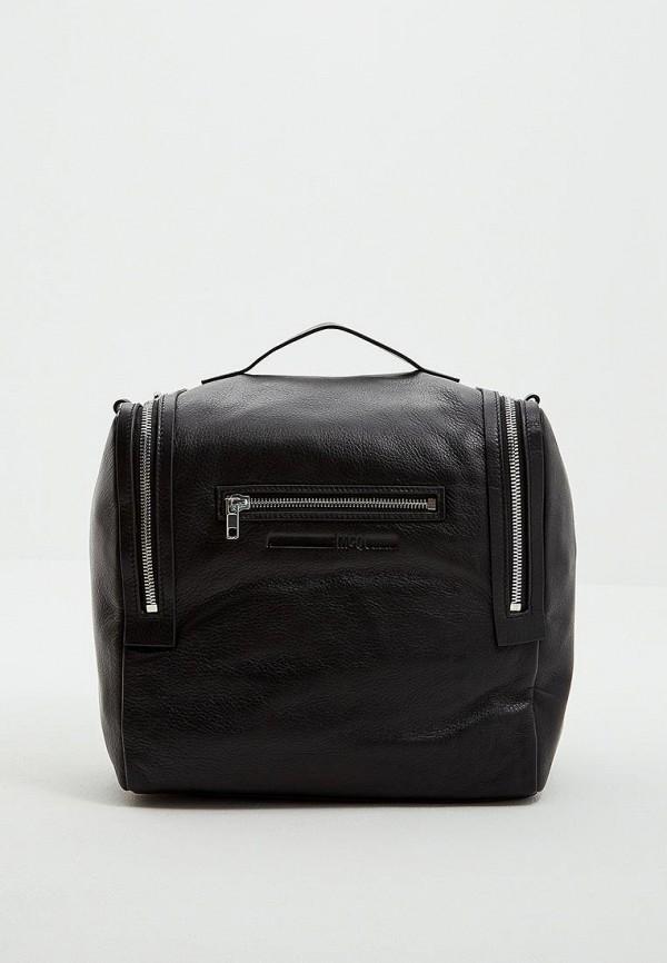 Купить Рюкзак McQ Alexander McQueen, mc010bwbqai1, черный, Осень-зима 2018/2019