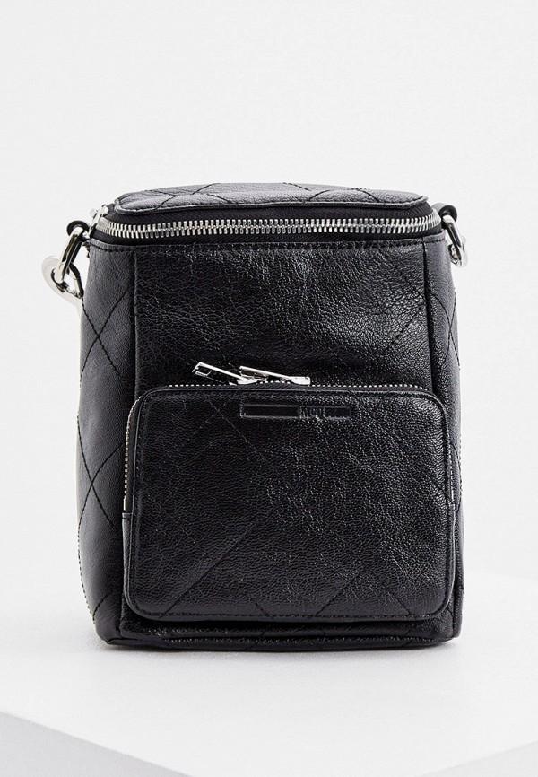 женский рюкзак mcq alexander mcqueen, черный