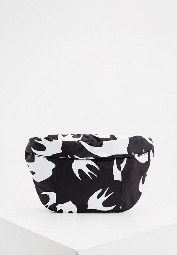 женская сумка mcq alexander mcqueen, черная