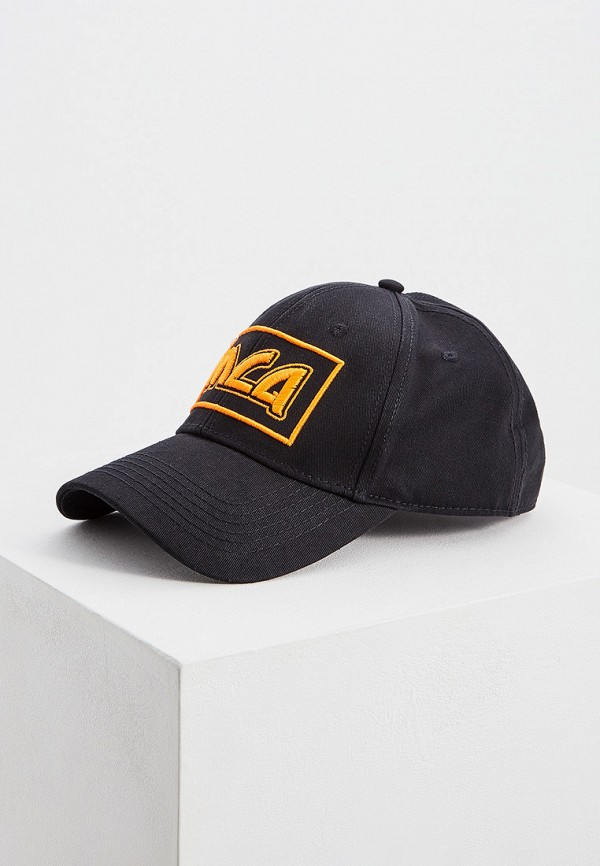 Купить мужскую бейсболку McQ Alexander McQueen черного цвета