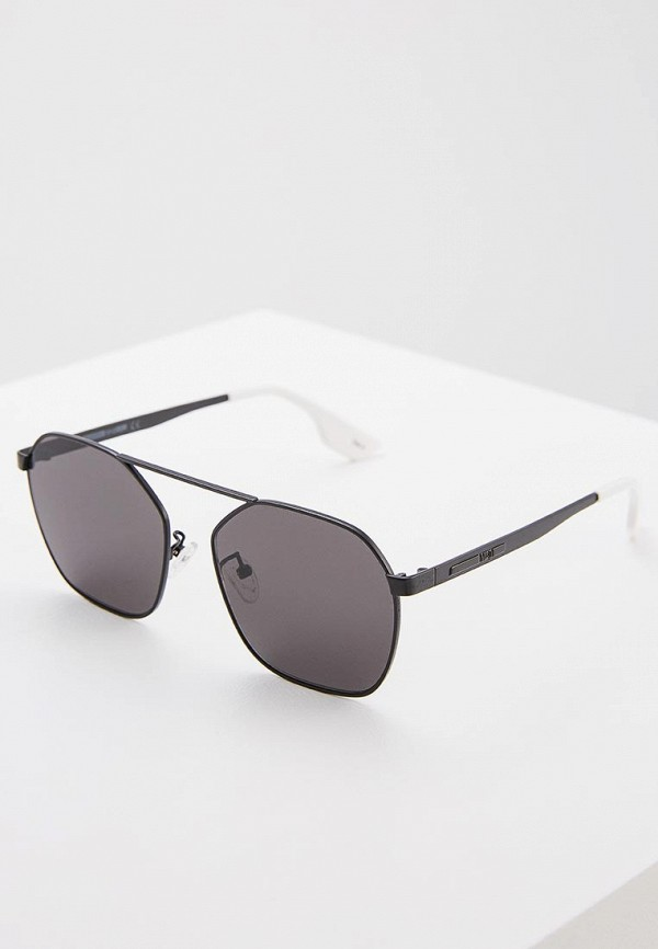 мужские солнцезащитные очки mcq alexander mcqueen, черные