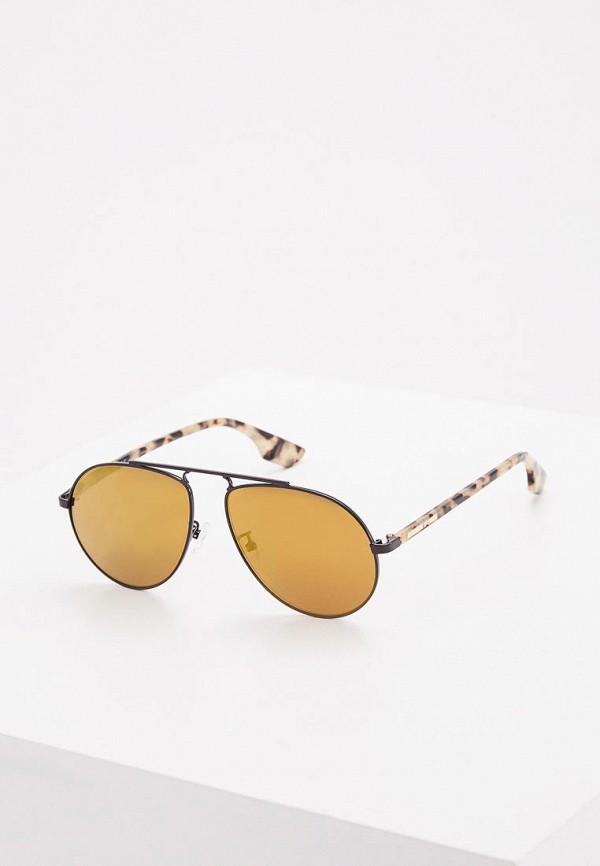 все цены на Очки солнцезащитные McQ Alexander McQueen McQ Alexander McQueen MC010DMZHT43 онлайн