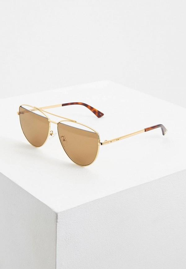 Очки солнцезащитные McQ Alexander McQueen McQ Alexander McQueen MC010DUCZLV5 очки солнцезащитные mcq alexander mcqueen mcq alexander mcqueen mc010dwqyl57