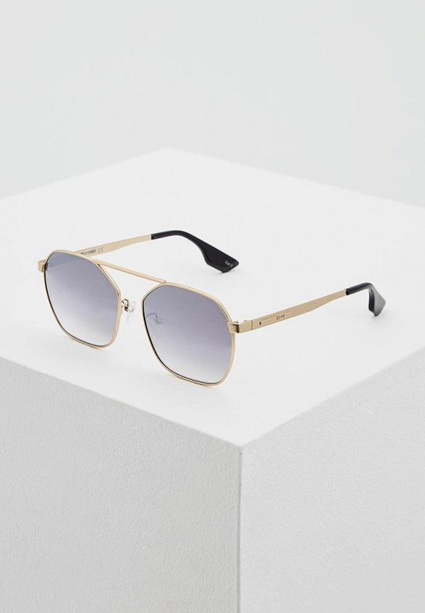 Очки солнцезащитные McQ Alexander McQueen McQ Alexander McQueen MC010DUQYL56 цена и фото