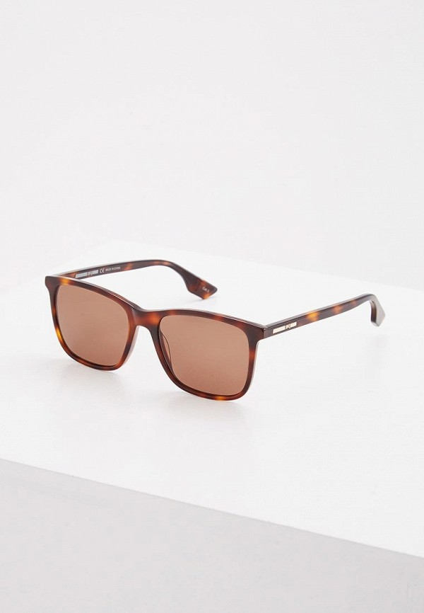 Очки солнцезащитные McQ Alexander McQueen McQ Alexander McQueen MC010DUZHT37 mcq alexander mcqueen платок