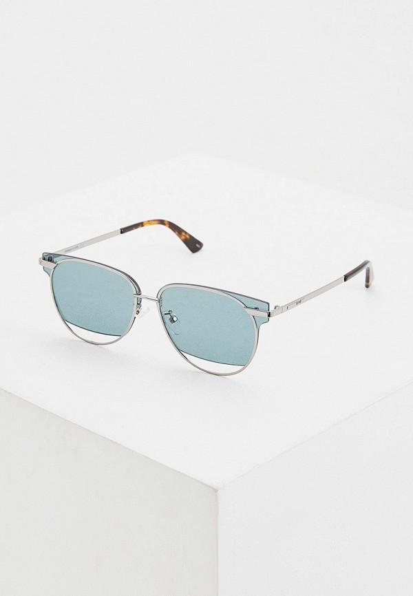 женские солнцезащитные очки mcq alexander mcqueen, зеленые