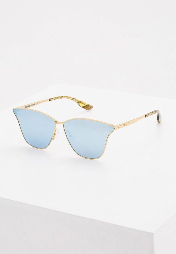 Очки солнцезащитные McQ Alexander McQueen McQ Alexander McQueen MC010DWZHT50 mcq alexander mcqueen платок