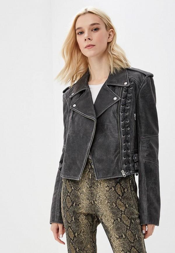 Куртка кожаная McQ Alexander McQueen McQ Alexander McQueen MC010EWBQAJ8 стоимость