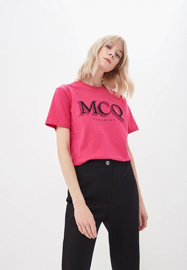 Футболка McQ Alexander McQueen McQ Alexander McQueen MC010EWCWEW2 mcq alexander mcqueen платок