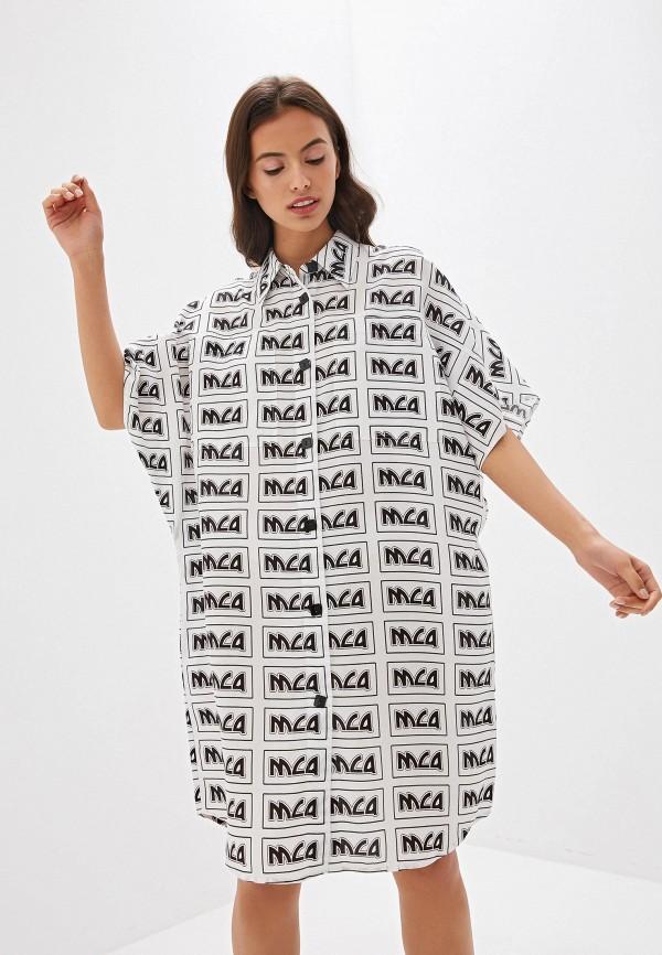 Платье McQ Alexander McQueen McQ Alexander McQueen MC010EWDNCN6 недорго, оригинальная цена