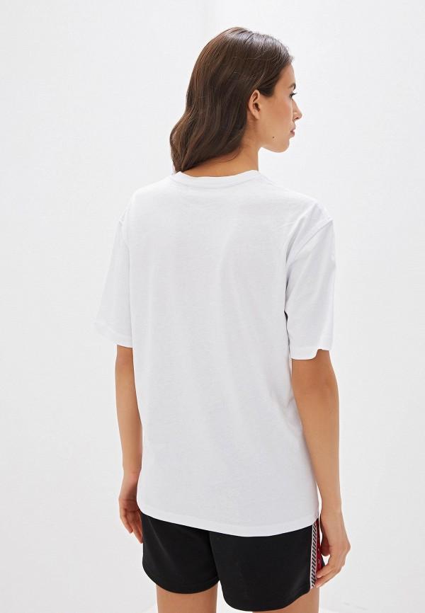 Фото 3 - Женскую футболку McQ Alexander McQueen белого цвета