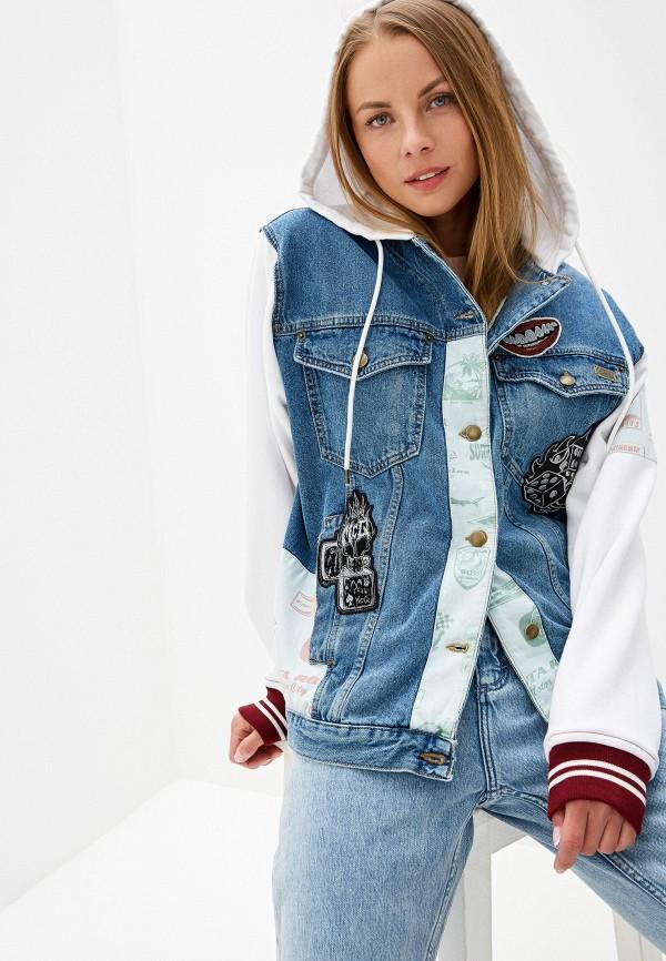 Куртка джинсовая McQ Alexander McQueen McQ Alexander McQueen MC010EWFDDO2 цены