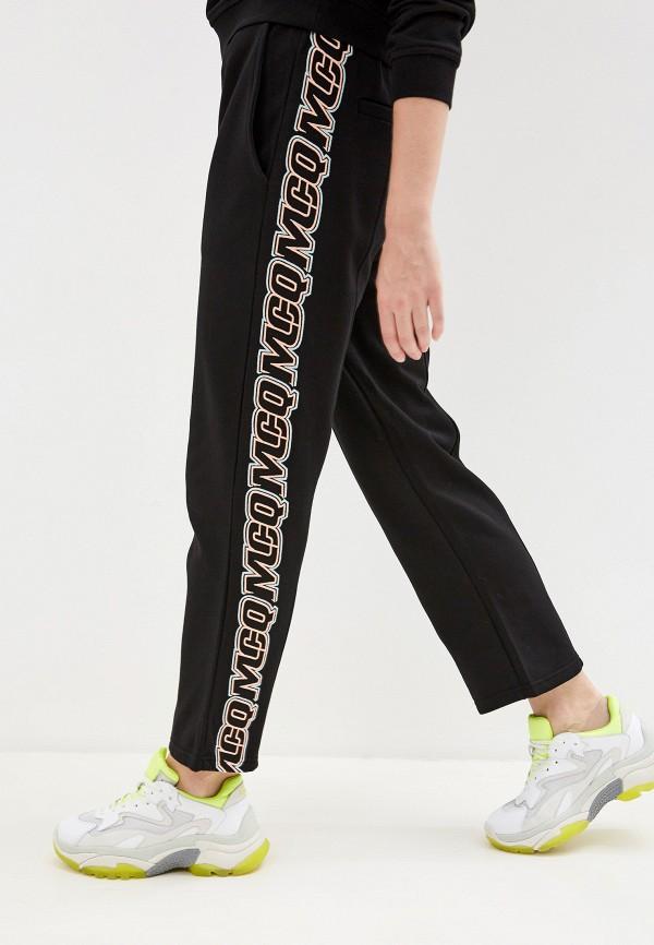 женские брюки mcq alexander mcqueen, черные
