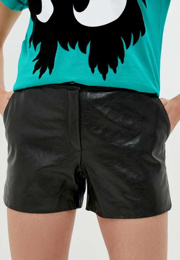 женские повседневные шорты mcq alexander mcqueen, черные