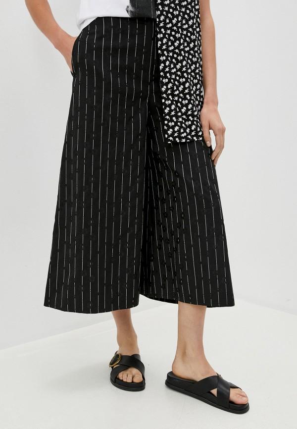 женские повседневные брюки mcq alexander mcqueen, черные
