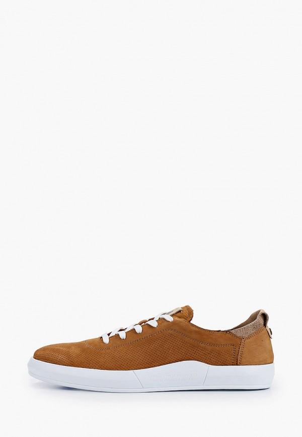 мужские кеды mcm, коричневые