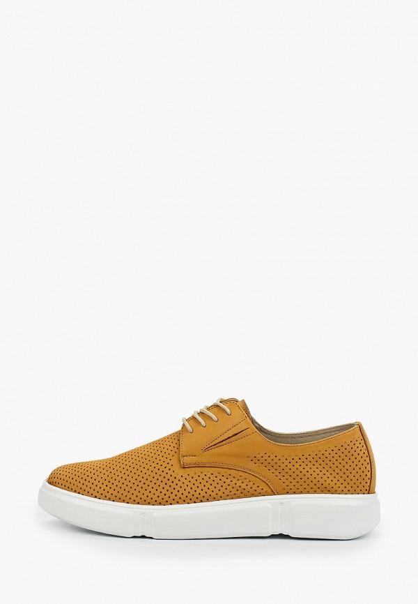 мужские туфли mcm, желтые