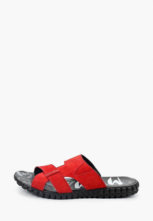 мужские сандалии mcm, красные