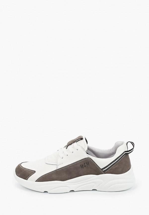 мужские кроссовки mcm, белые