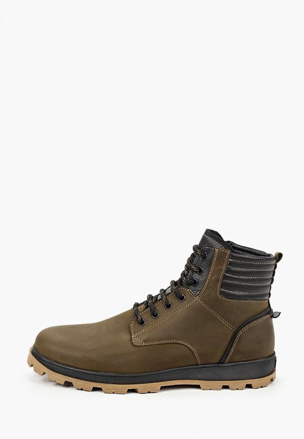 мужские ботинки mcm, хаки