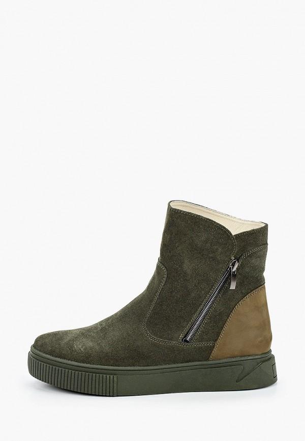 женские ботинки mcm, хаки
