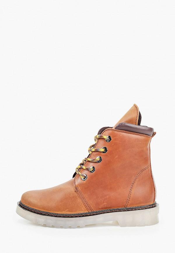 женские ботинки mcm, коричневые