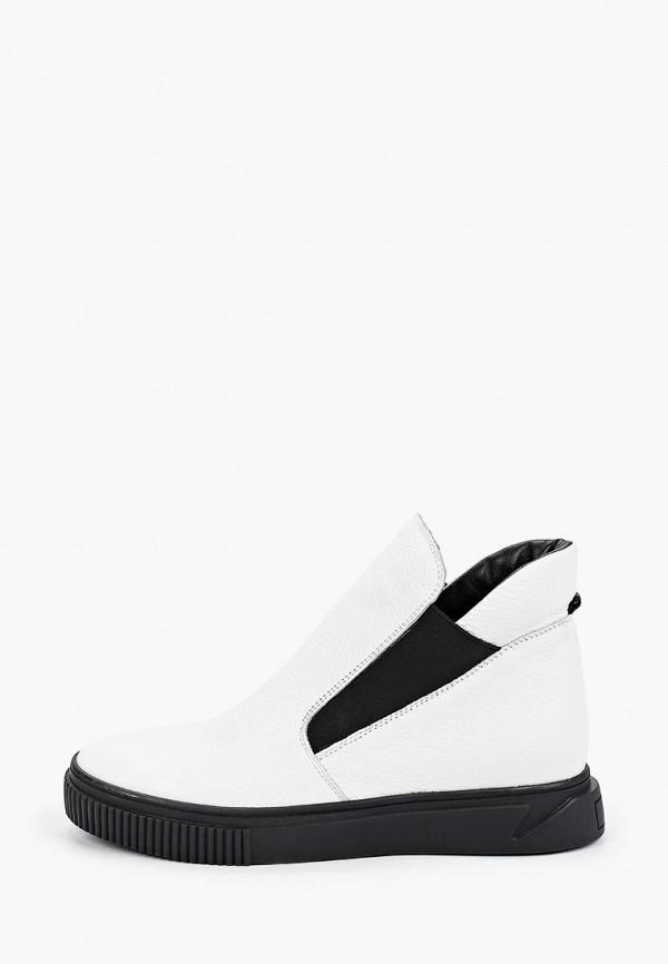 женские ботинки mcm, белые