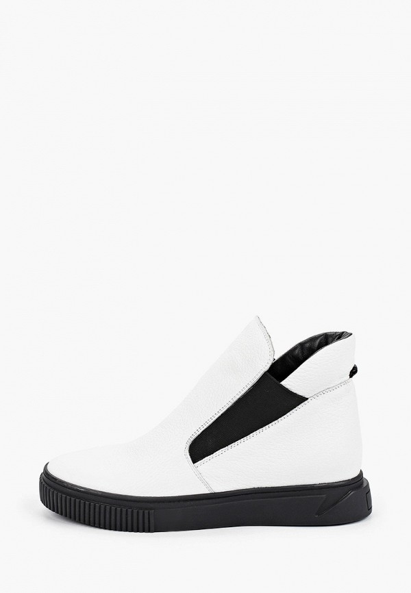 женские ботинки-челси mcm, белые