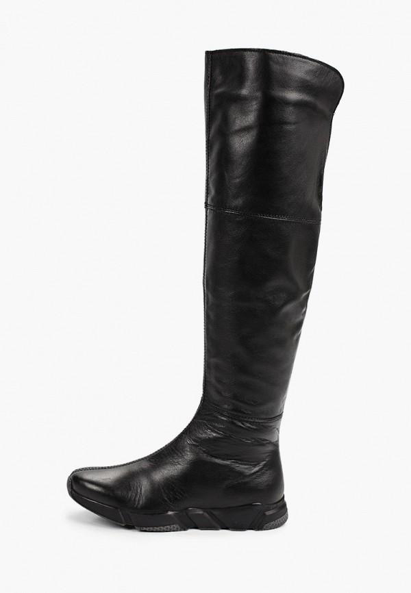 женские ботфорты mcm, черные