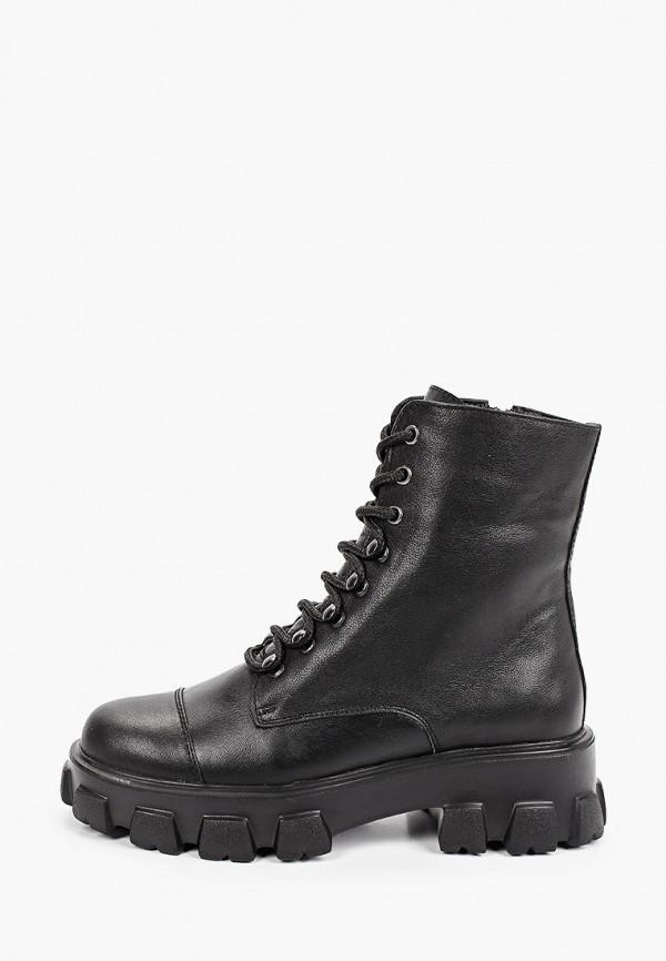женские ботинки mcm, черные