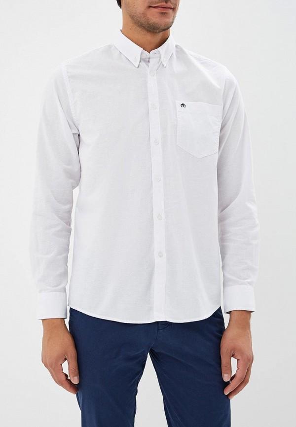 мужская рубашка с длинным рукавом merc, белая