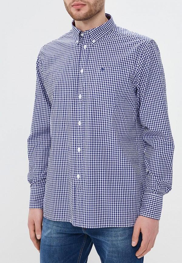 мужская рубашка с длинным рукавом merc, синяя