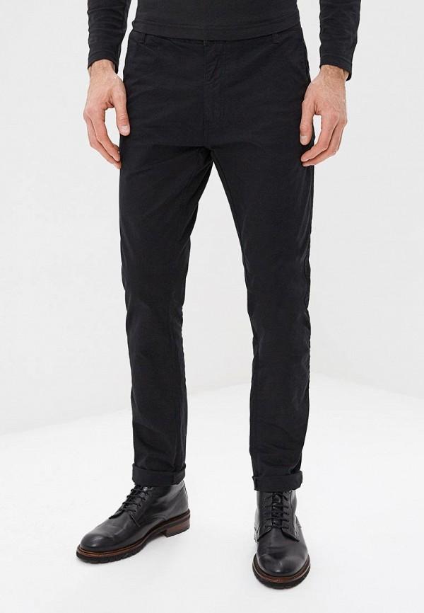 мужские зауженные брюки mezaguz, черные