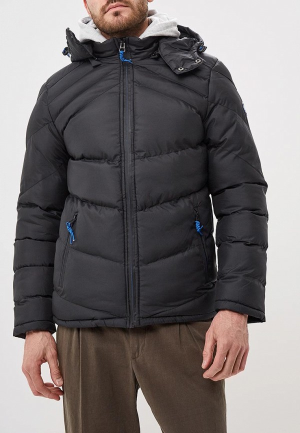 мужская куртка mezaguz, черная