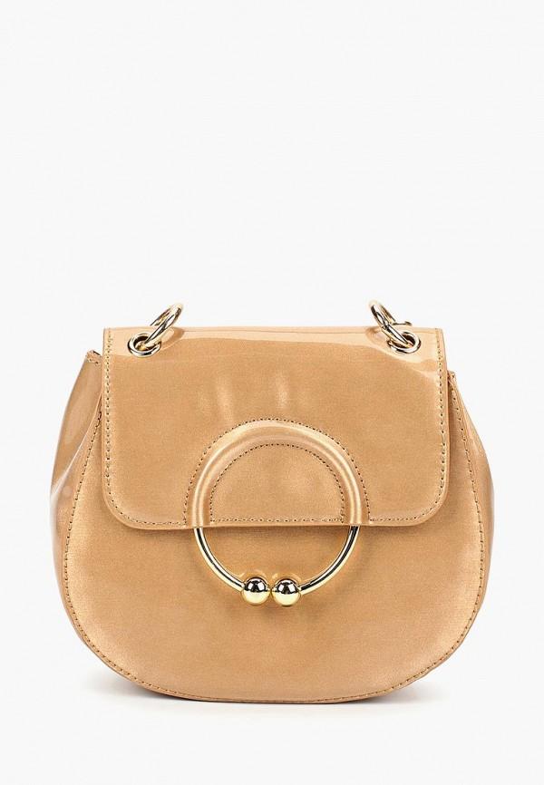 женская сумка menbur, золотая