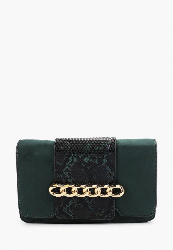 женская сумка menbur, зеленая