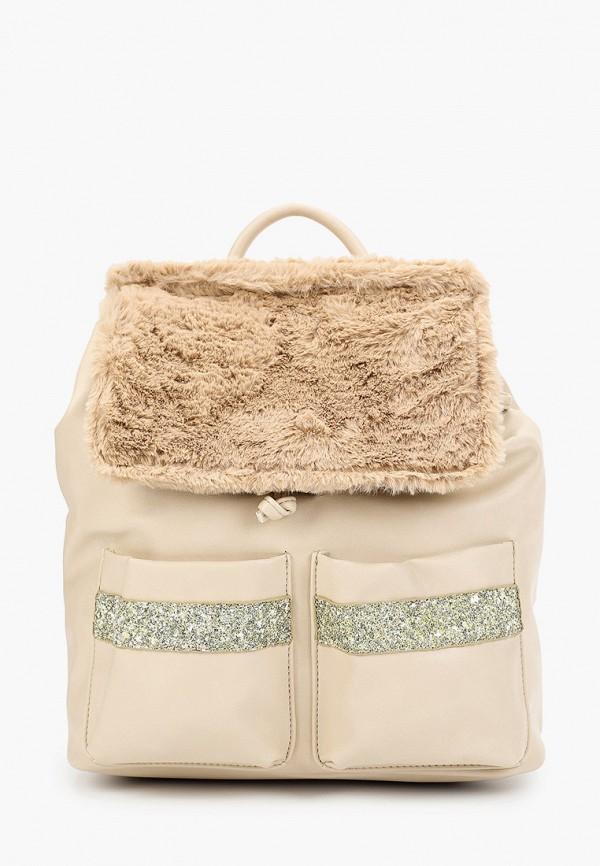 женский рюкзак menbur, бежевый