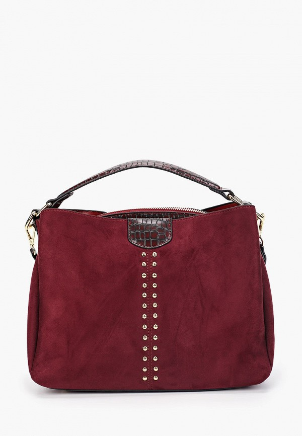 женская сумка menbur, бордовая