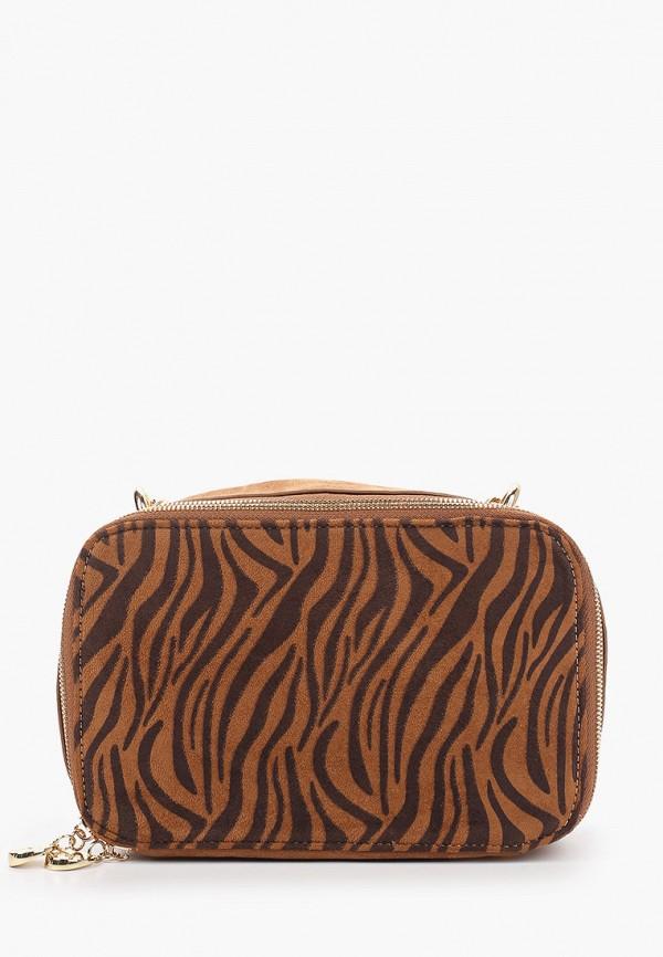 женская сумка menbur, коричневая