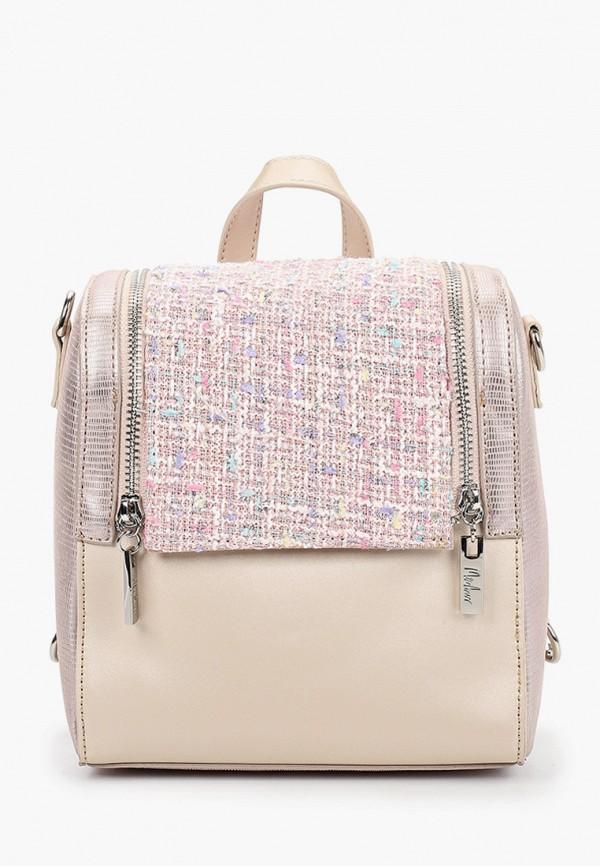 женский рюкзак menbur, розовый