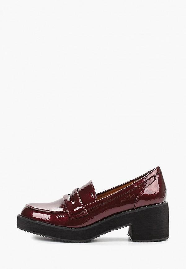 женские туфли mellisa, бордовые