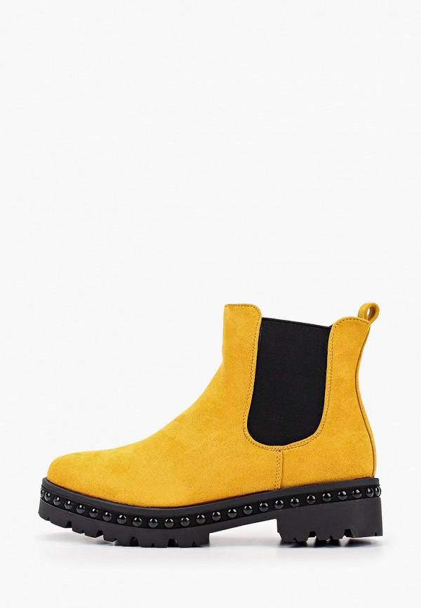женские ботинки mellisa, желтые