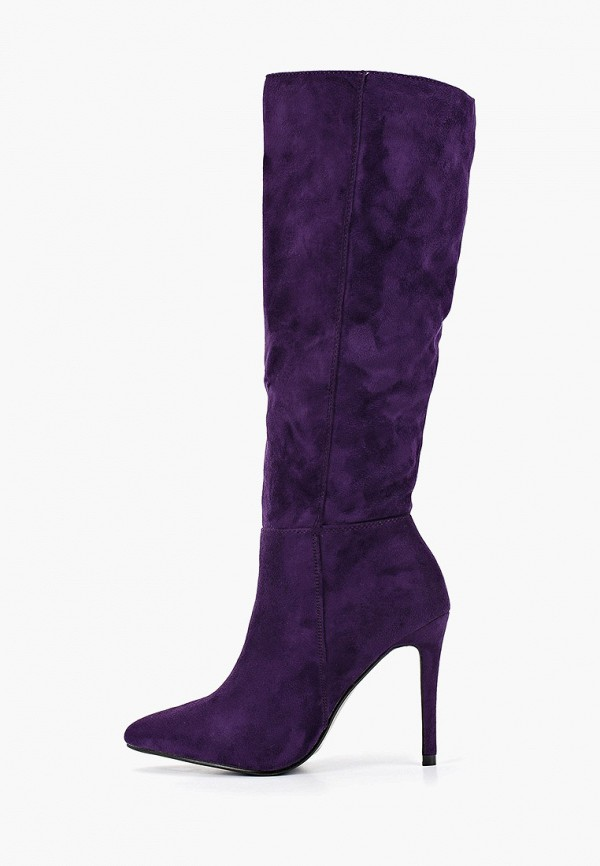 женские сапоги mellisa, фиолетовые